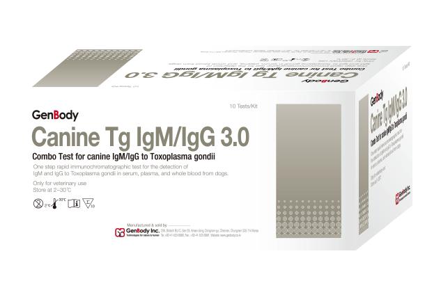 Canine Tg IgM/IgG 3.0