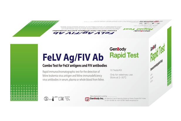 FeLV Ag-FIV Ab Feline leukemia virus (FeLV)